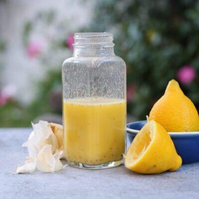 Easy Lemon Dijon Dressing