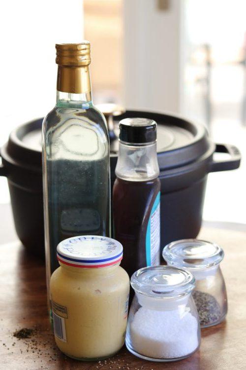 Maple Vinaigrette Dressing ingredients