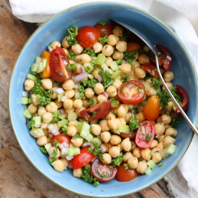 kitchen sink bean salad