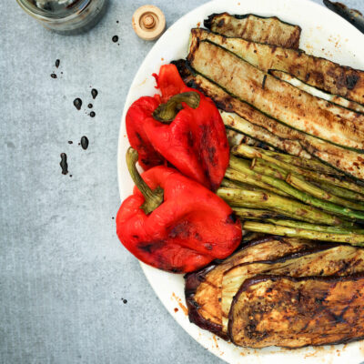 Balsamic Grilled Vegetables – 3 WAYS