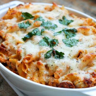 Quick Weeknight Baked Pasta