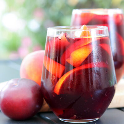 sangria on table
