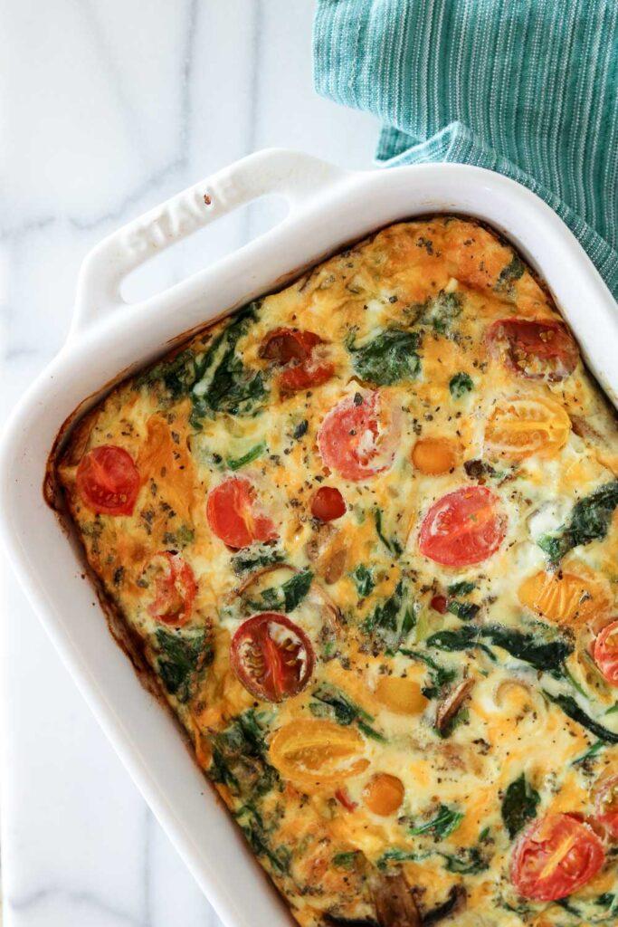 eggs casserole dish