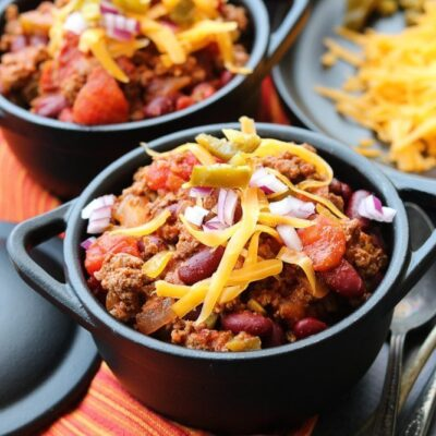 Fast and Easy Beef Chili