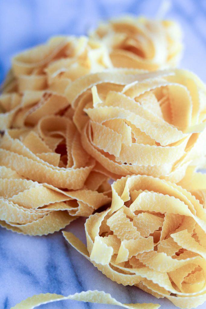 Reginelle egg pasta