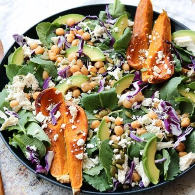 Colorful Superfood Spinach Salad