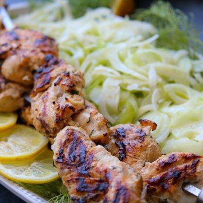 Yogurt Herb Marinated Grilled Chicken