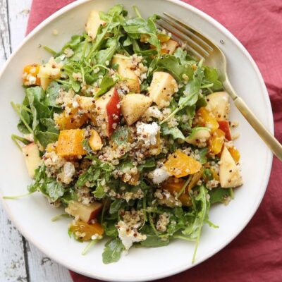 Roasted Golden Beet Salad With Quinoa